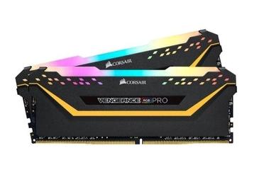 Corsair pamięć ddr4 vengeance rgb pro 32gb3200 216gb czarna cl16 tuf gaming