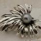 Syria 2 - srebrna broszka z perłą