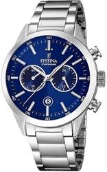 Festina timeless chronograph f16826-b