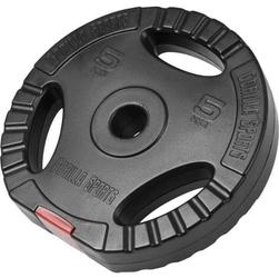 5 kg obciążenie bitumiczne z uchwytami na sztangę 30 mm