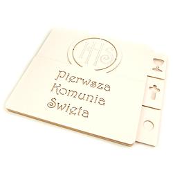 Baza do albumu Pierwsza Komunia Święta 15x17,2 cm