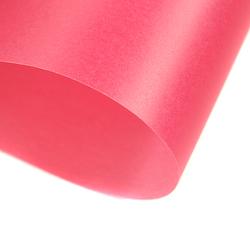 Papier transparentny gładki - różowy - RÓŻ