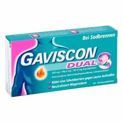 Gaviscon Dual 250mg106,5mg187,5mg tabletki do ssania