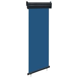 Vidaxl markiza boczna na balkon, 60 x 250 cm, niebieska