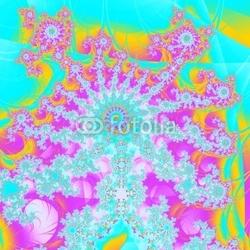 Plakat na papierze fotorealistycznym szczęśliwy hipis
