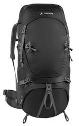 Plecak trekkingowy vaude astrum 70+10 xl czarny - czarny