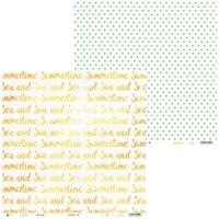 Papier do scrapbookingu summertime 30,5x30,5 cm 05 - 05  produkt polski || outlet