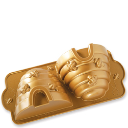 Forma do ciasta Ul Nordic Ware złota 54577