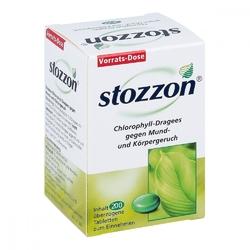 Stozzon chlorofil w drażetkach duże opakowanie