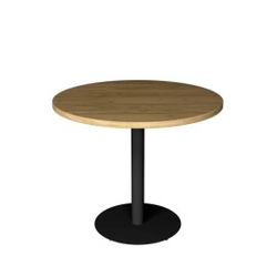 Loft decora :: stół restauracyjny flat okrągły śr. 90 cm