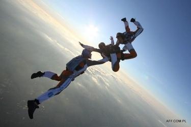 Skok ze spadochronem z wideorejestracją dla dwojga - bielsko-biała