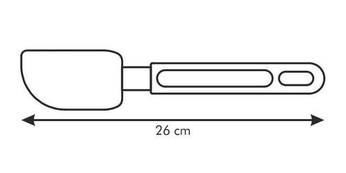 Tescoma szpatułka silikonowa delicia