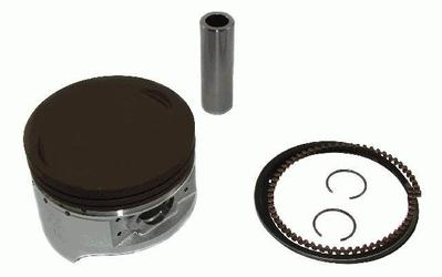 Nstar bas103101-0044-k-2 tłok kompletny atv bashan 200  64 mm
