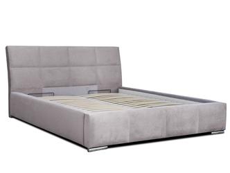 Nowoczesne łóżko tapicerowane bristol z pojemnikiem na pościel 160x200 cm