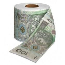 Papier toaletowy 100 złotych