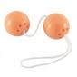 Soft latex vibratone balls