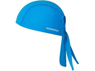 Bandana shimano jednokolorowa unisex niebieska
