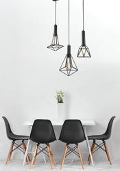 Potrójna lampa industrialna do jadalni spider maytoni loft t021-03-b