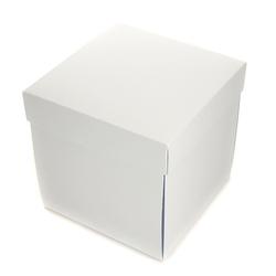 Pudełko exploding box 10 cm - biały - BIA