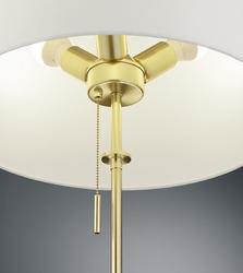 Stojąca lampa z regulowaną wysokością lyon mosiądz
