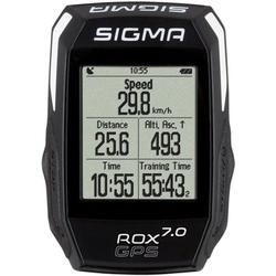 Licznik rowerowy - komputerek sigma rox 7.0 gps czarny