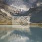 Fototapeta góry jezioro moiry w valais