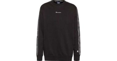 Champion crewneck sweatshirt 214224-kk001 m czarny