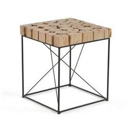 Stolik dane 40x40cm naturalne drewno
