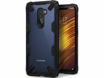 Etui Ringke Fusion X Xiaomi Pocophone F1 Black - Czarny