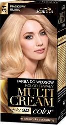 Joanna multi cream color, farba do włosów, 31 piaskowy blond