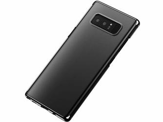 Etui Baseus glitter case Samsung Galaxy Note 8 czarne - Czarny