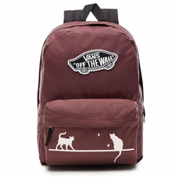 Plecak VANS Realm Custom Cats koty - VN0A3UI6ALI 295