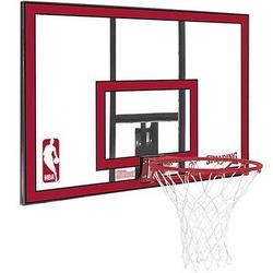 Zestaw tablica do koszykówki spalding nba polycarbonat backboard + piłka nike baller 8p