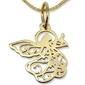 Wisiorek z żółtego złota aniołek wec-z-wis-aniołek-40