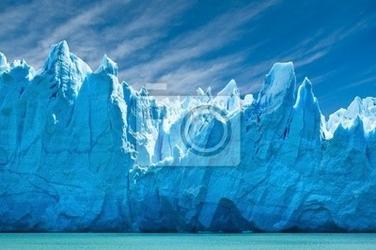 Fototapeta lodowiec perito moreno, patagonia, argentina.