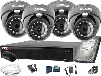 2560×1440 4mpx 4x bcs-b-mk42800 bcs basic zestaw do monitoringu dysk 1tb akcesoria