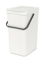 Kosz do segregacji odpadów Sort  Go 16 l biały