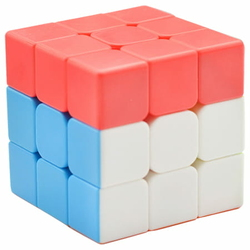 LeFun 3x3x3 Red Cap Cube Red – Blue