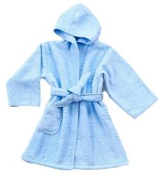 Szlafrok dziecięcy  greno niebieski 8 lat