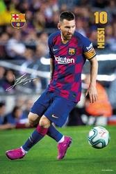 Fc barcelona messi 20192020  - plakat