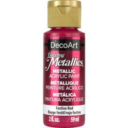 Farba metaliczna Dazzling Metallics 59 ml czerwona - czerwony świąteczny