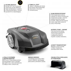 STIGA Robot koszący Autoclip 524 S Raty 10 x 0 | Dostawa 0 zł | Dostępny 24H | tel. 22 266 04 50 Wa-wa
