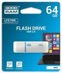 GOODRAM UMO2 64GB USB 2.0 BiałyGrafit
