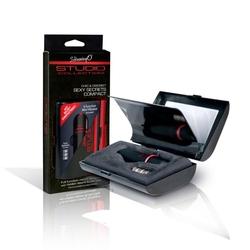 Studio collection compact with vibrating bullet – wibrująca kosmetyczka stymulator