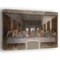 Ostatnia wieczerza -  leonardo da vinci - obraz na płótnie wymiar do wyboru: 100x70 cm