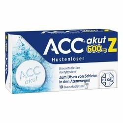 Acc akut 600 Z Hustenloeser Brausetabl.