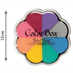 Zestaw tuszy pigmentowych petal point color box