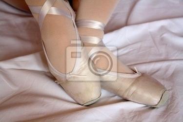 Fototapeta pointe shoes