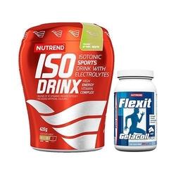 Nutrend isodrinx 420 g + gelacoll 180 caps