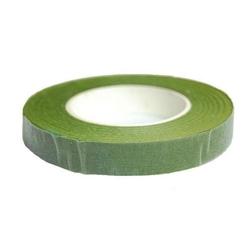 Taśma florystyczna zielona 12mm27 m